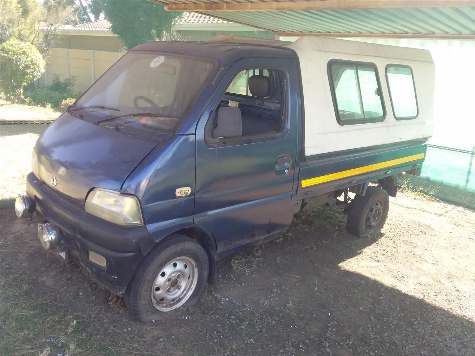 2006 Chana mini van. KM