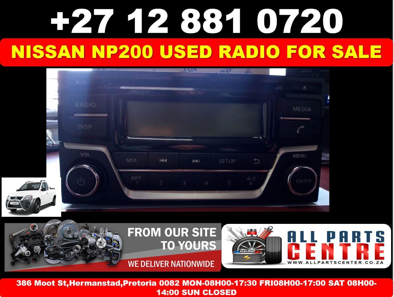 Nissan NP200 used radio for sale