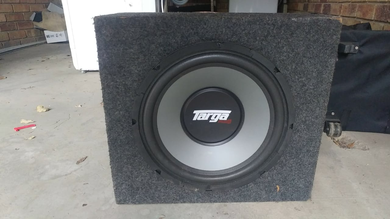 Sub amp and box