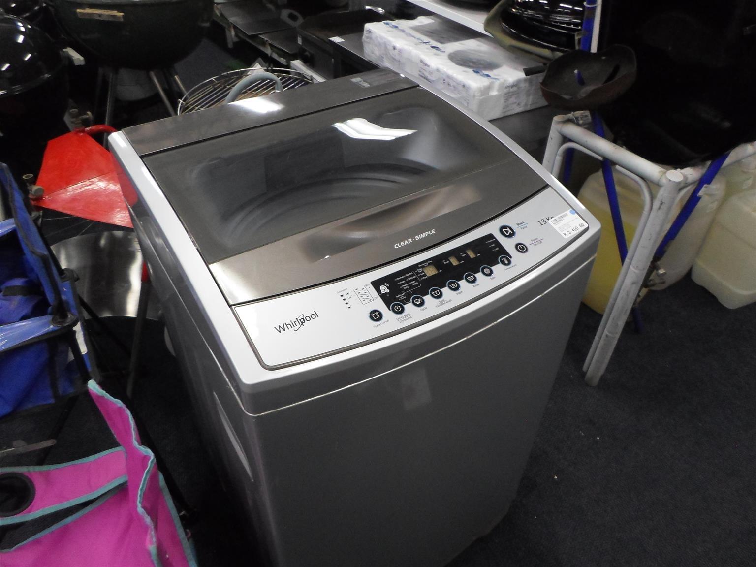 13kg. Whirlpool Washing Machine