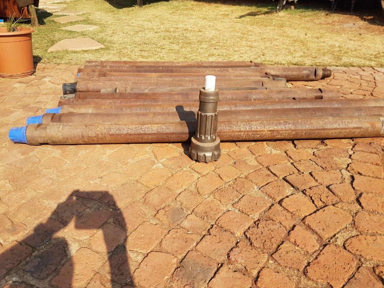 Massey Ferguson Drill Rig