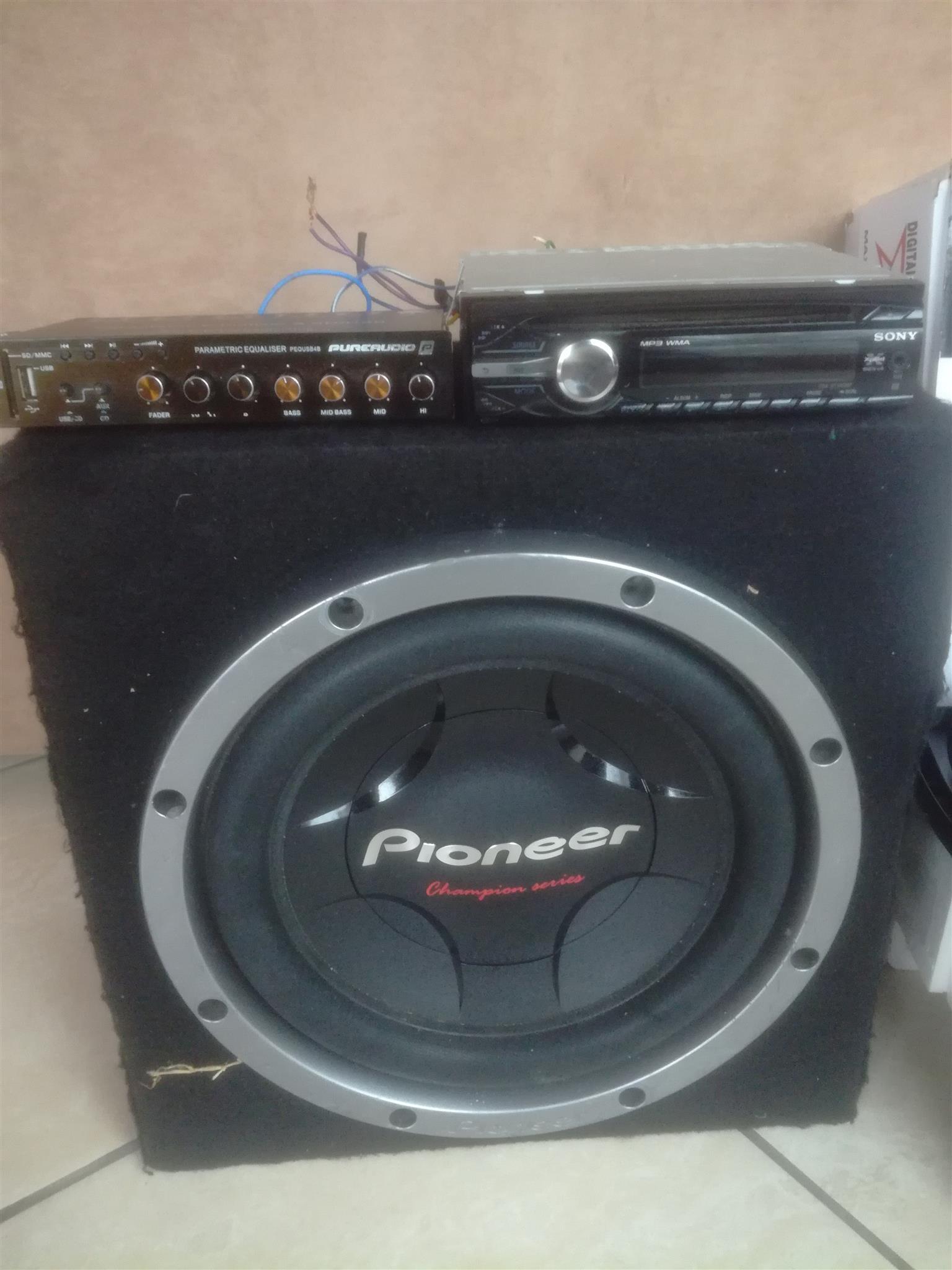 Car Audio for Sale