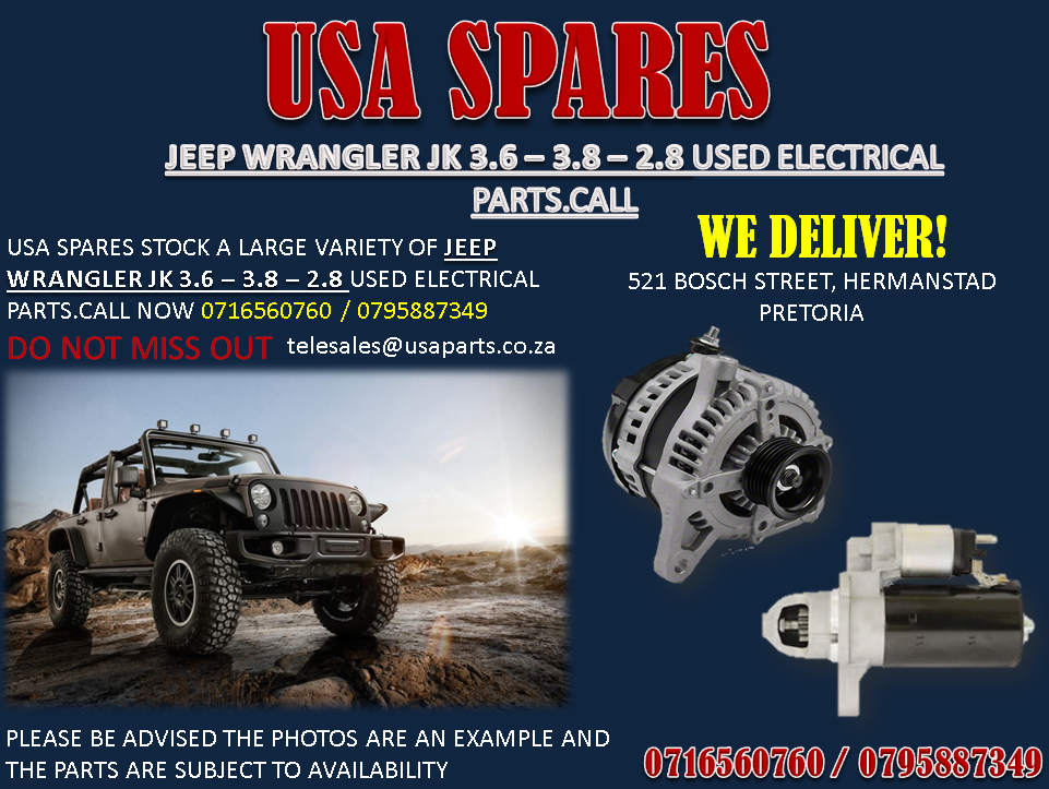 Used Jeep Wrangler Parts >> Jeep Wrangler Jk 2 8 3 6 3 8 Electrical Parts For Sale