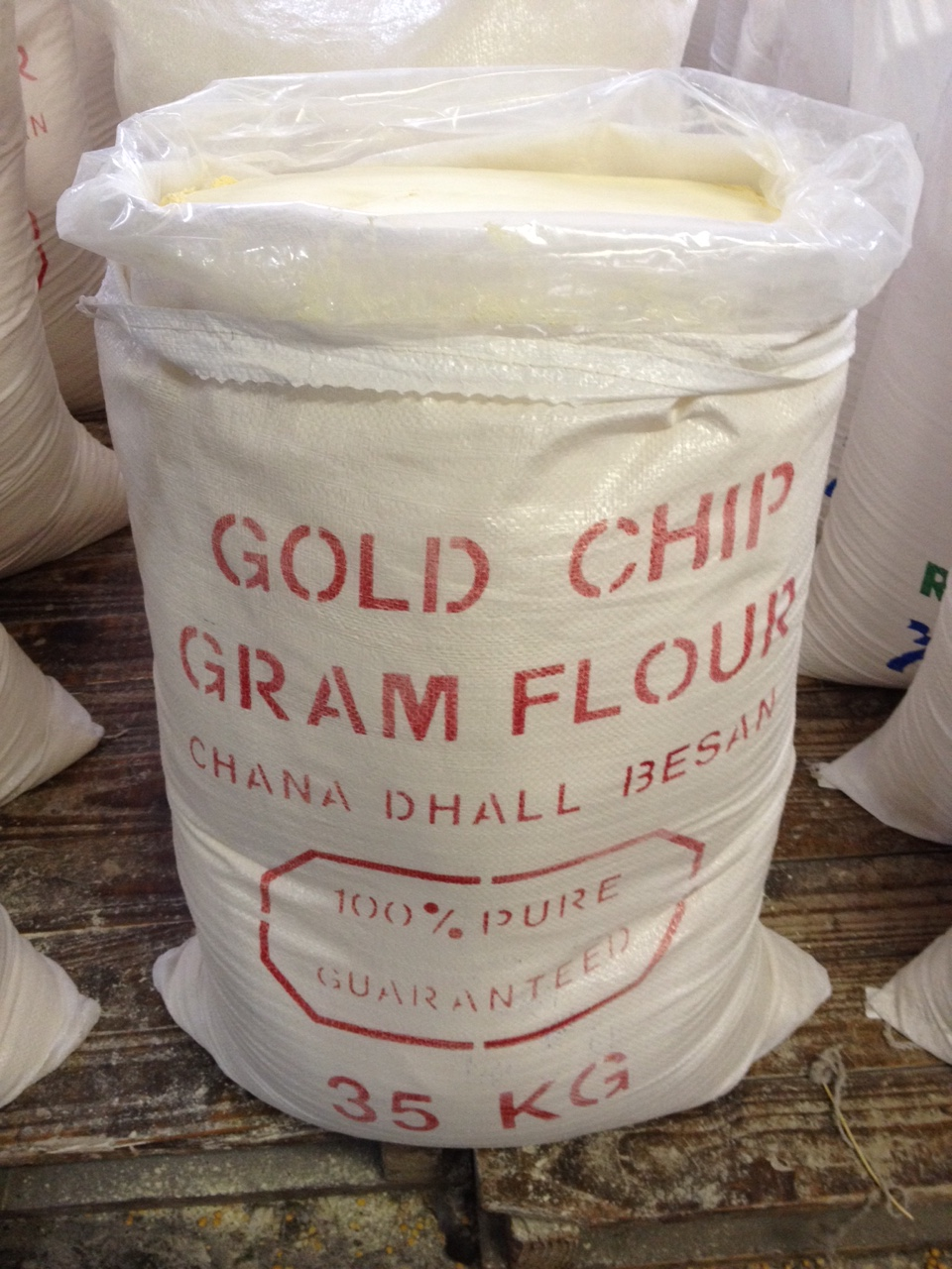 100% Pure Chick Pea Flour / Chana Flour