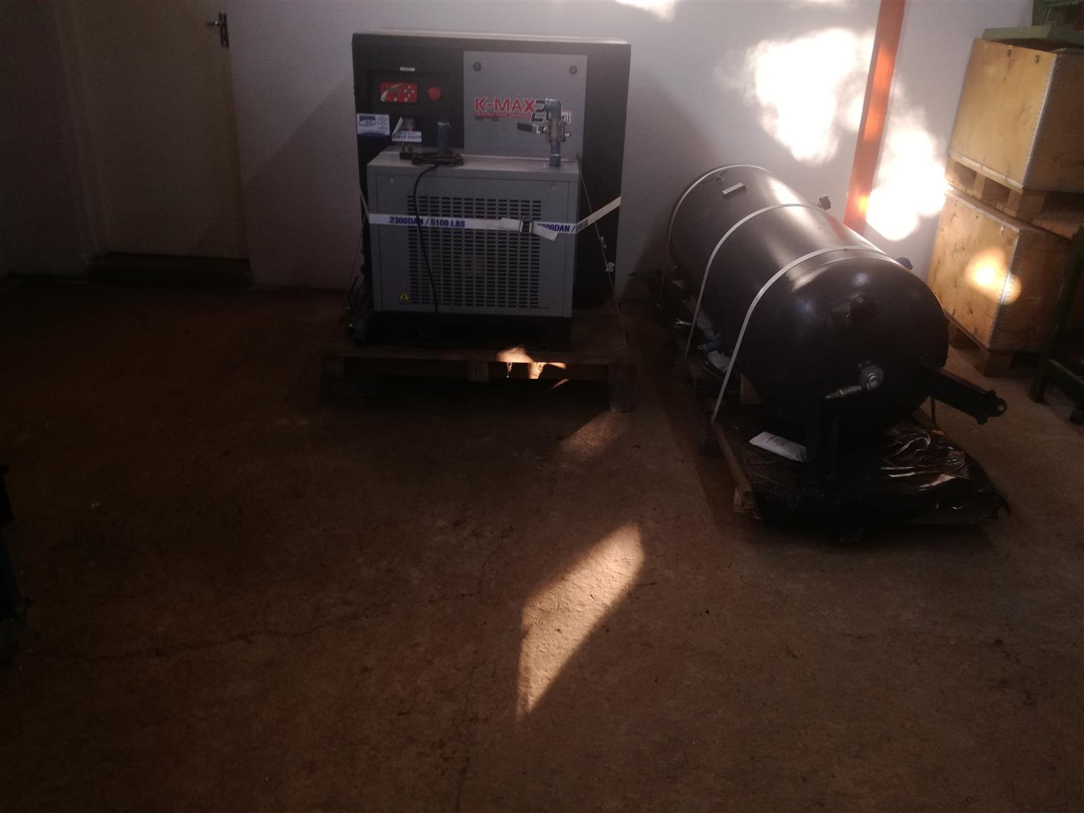 Fini K - Max20, 10 Bar Air Compressor