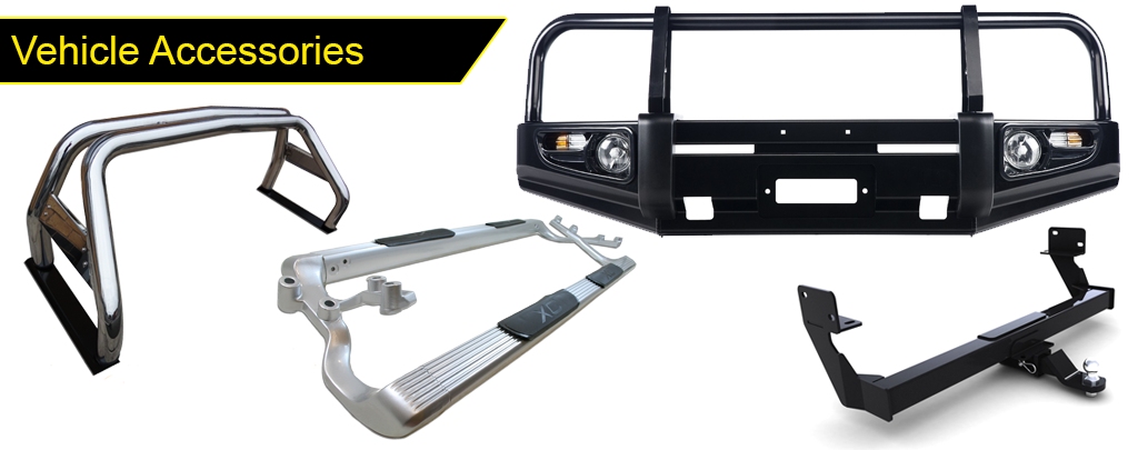 CHEV UTILITY TOWBAR AND ACCESSORIES