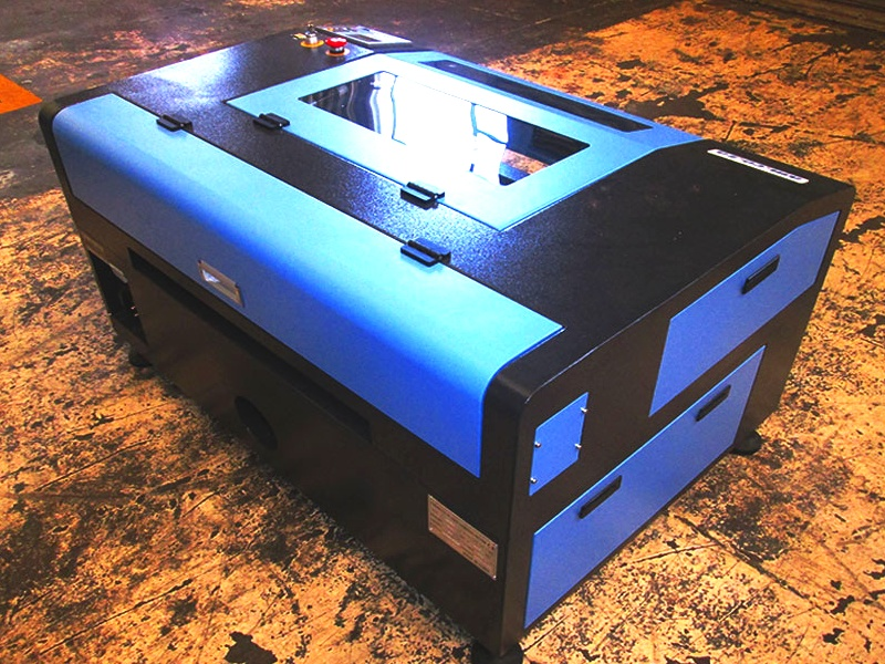 LC-9060/D100 TruCUT Standard Range 900x600mm Cabinet Type, Double Laser Head Laser Cutting