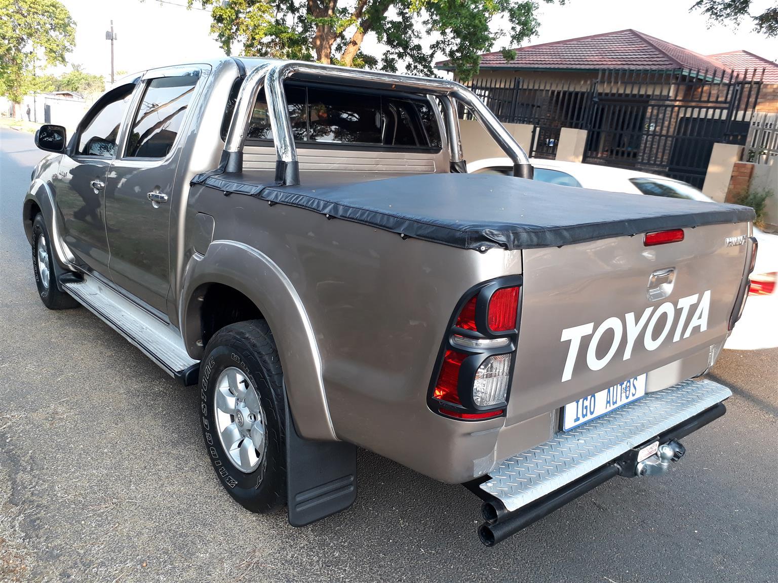2008 Toyota Hilux 3.0D 4D double cab Raider