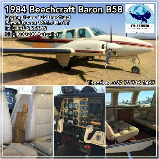 1984 BEECHCRAFT BARON B58 FOR SALE