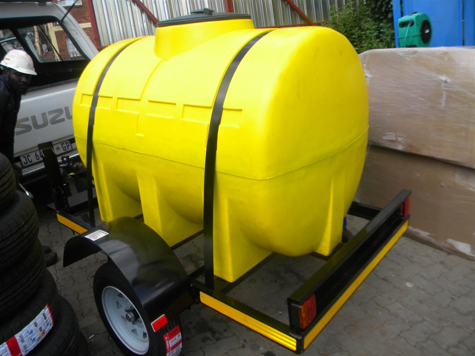 1000 liters Tanker  Plastic