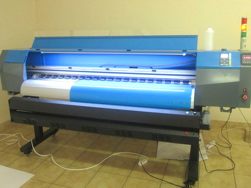 F-1864/AQUA FastCOLOUR 1860mm EPSON DX7 Printhead Large-Format Water Based Dye or Pigment