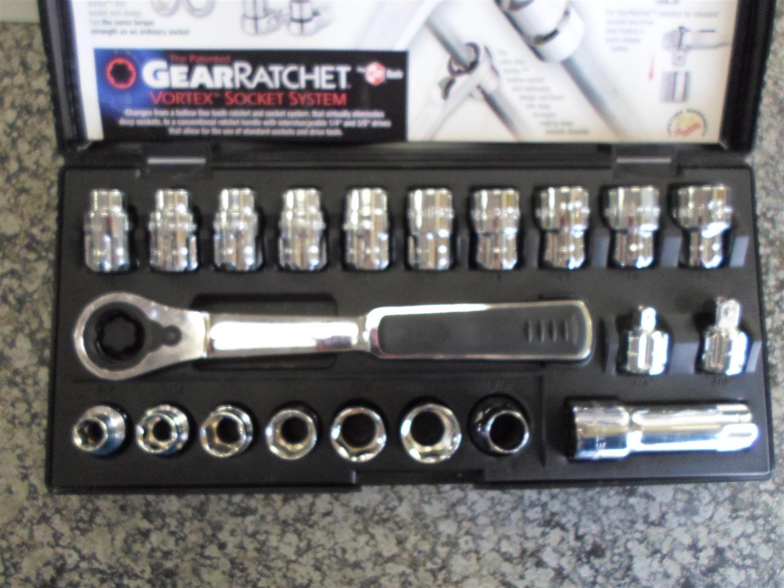 Gear Ratchet Vortex Socket System