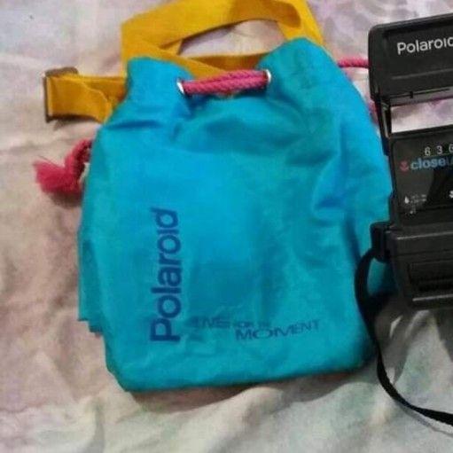polaroid camera bag