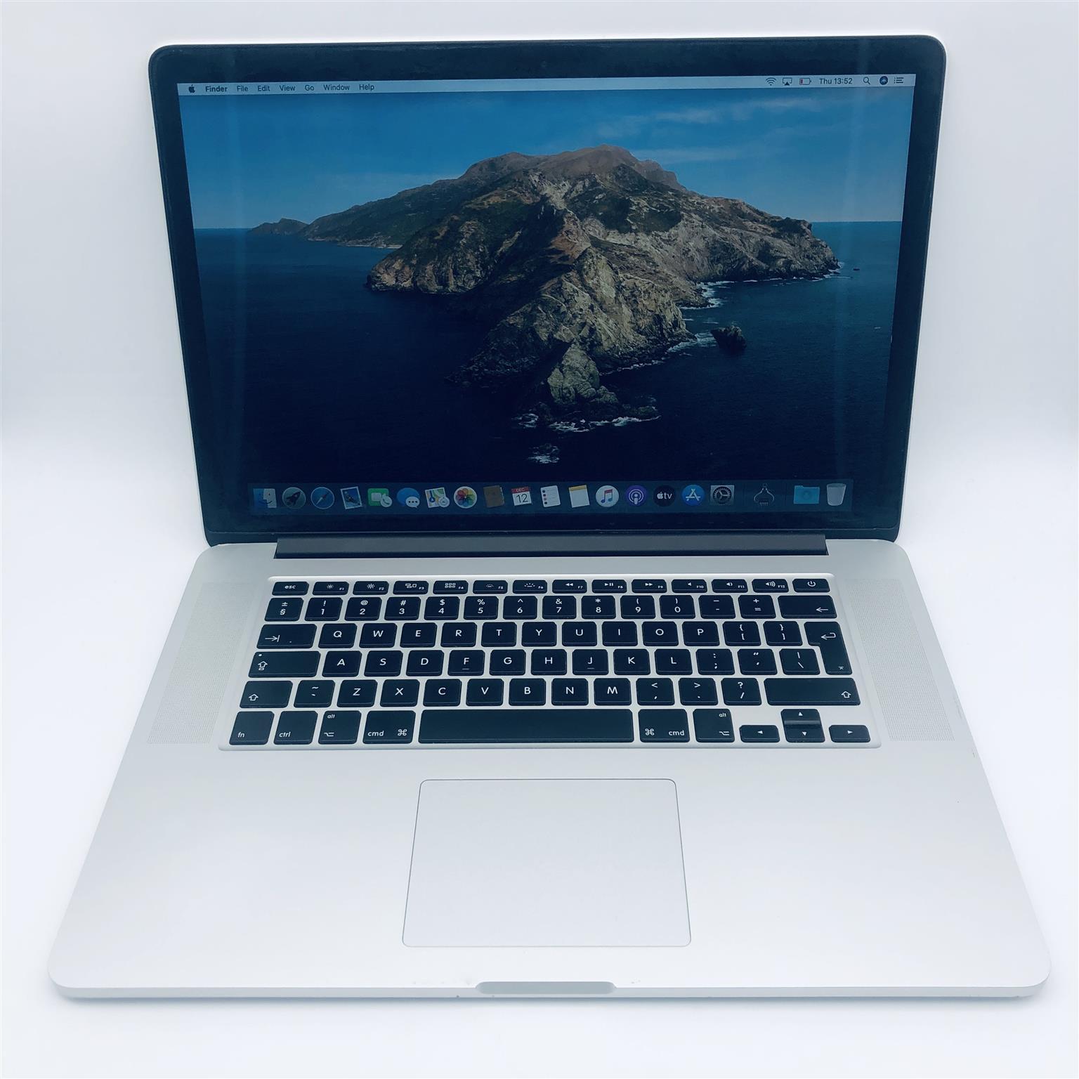Apple MacBook Pro 15-inch 2.0GHz Quad-Core i7 (Retina, 256GB, Silver) - Pre Owned
