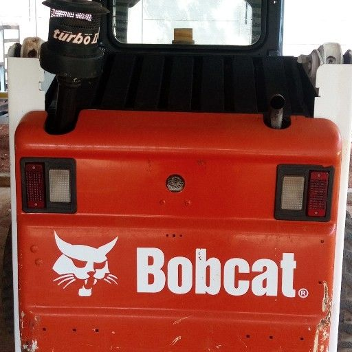 bobcat s150 with bobcat bachoe