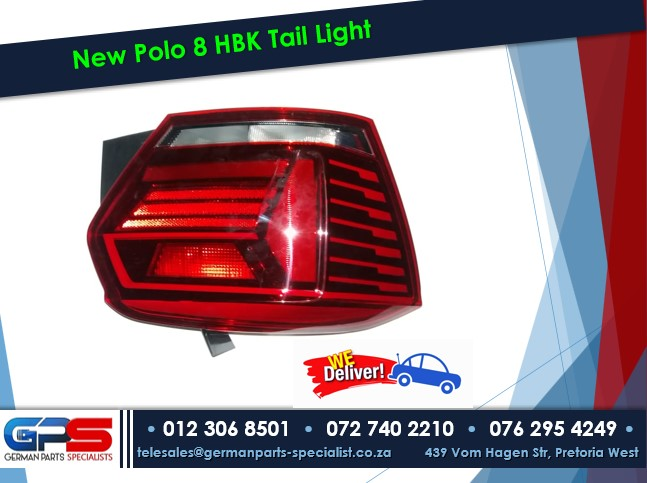 New Polo 8 HBK Tail Light