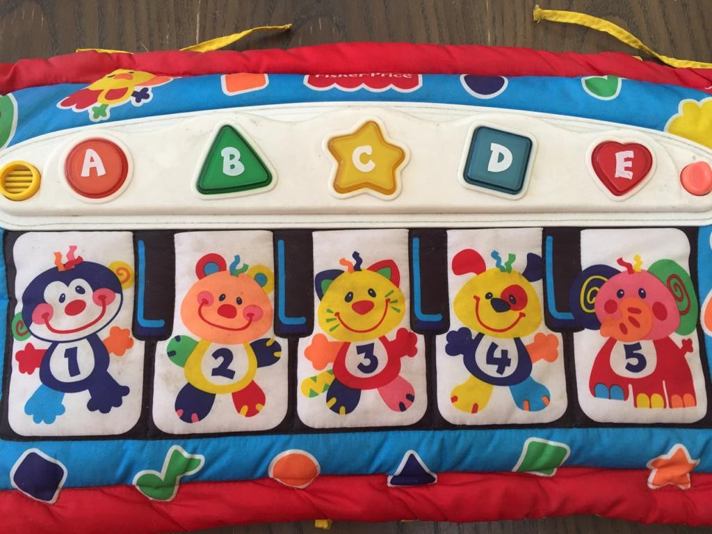 Fisher-Price Kick 'n Play Piano - ideal for babies through to toddlers