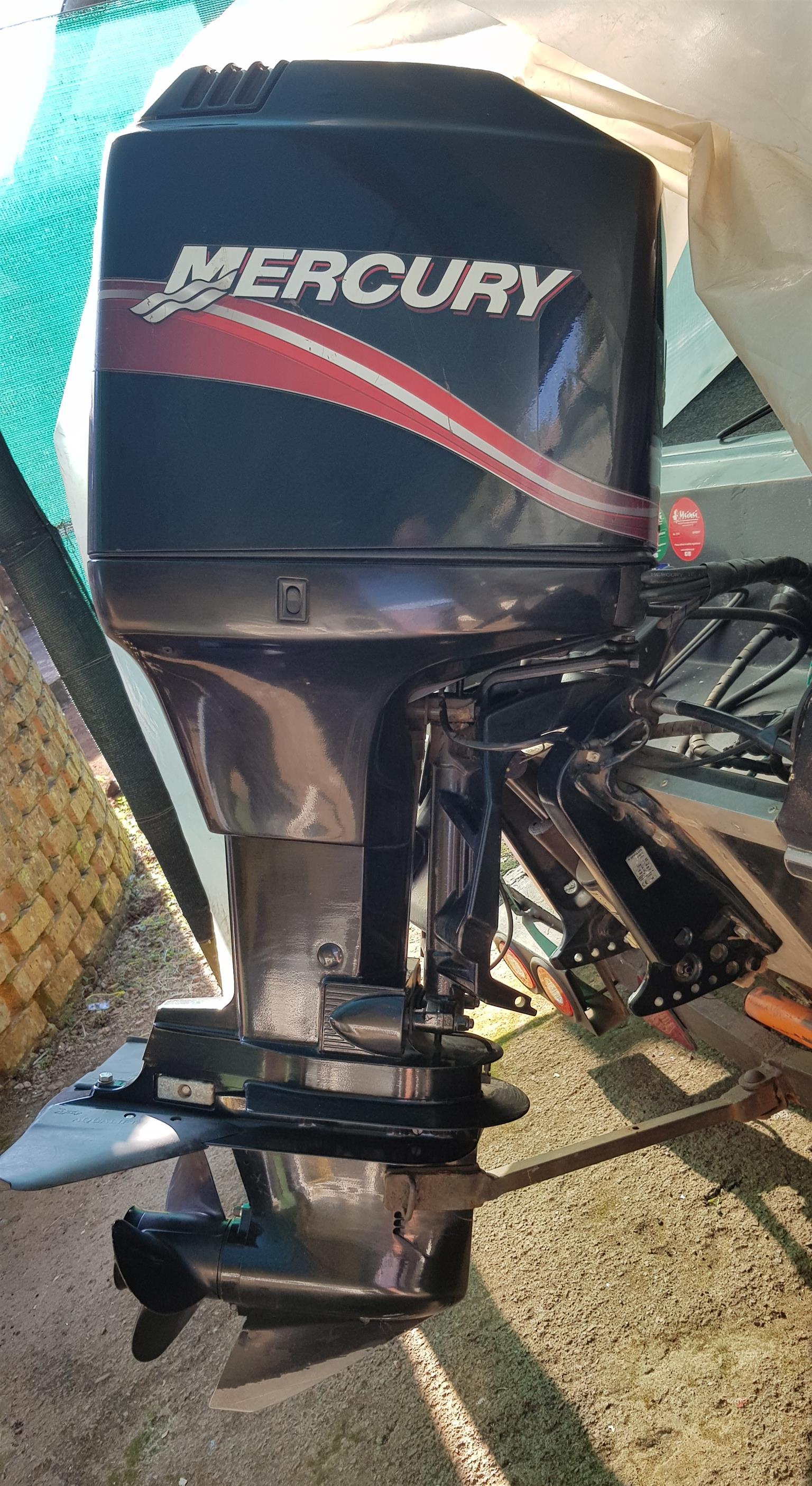 Mercury 125 outboard motor
