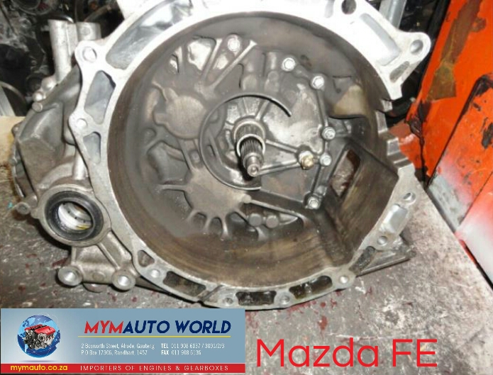 Imported used MAZDA FE 626 MANUAL gearbox Complete
