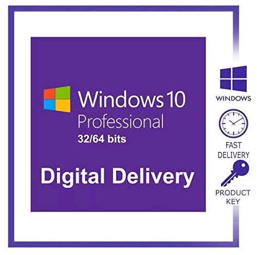 Authentic Microsoft Windows 10 Pro 32/64bit