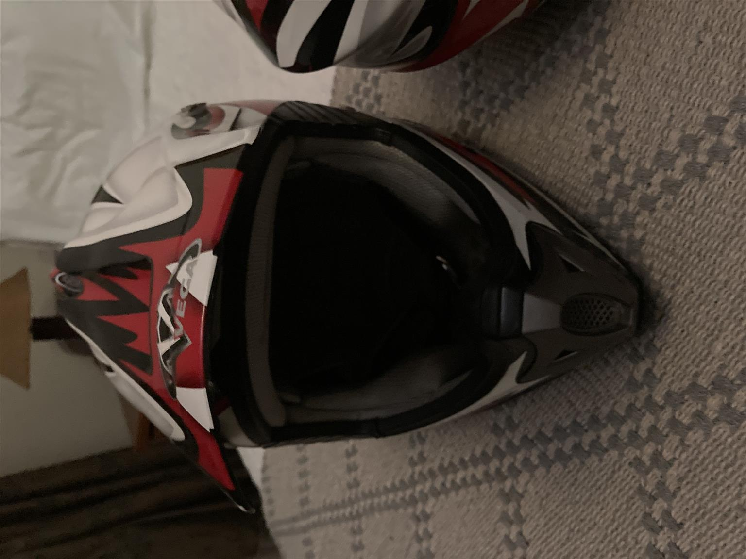 Offroad motorcycle helmets