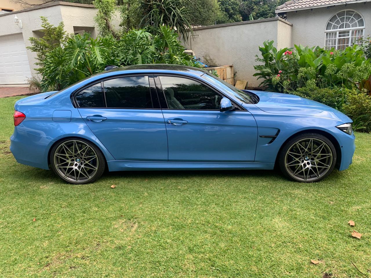 2017 BMW M3 sedan