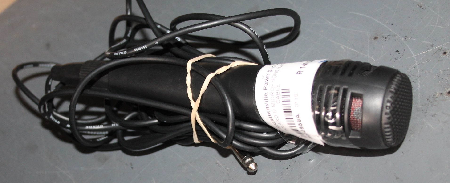 Polariod microphone with cable S032859A #Rosettenvillepawnshop