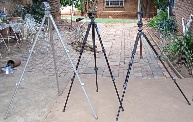 Camera stands x 3