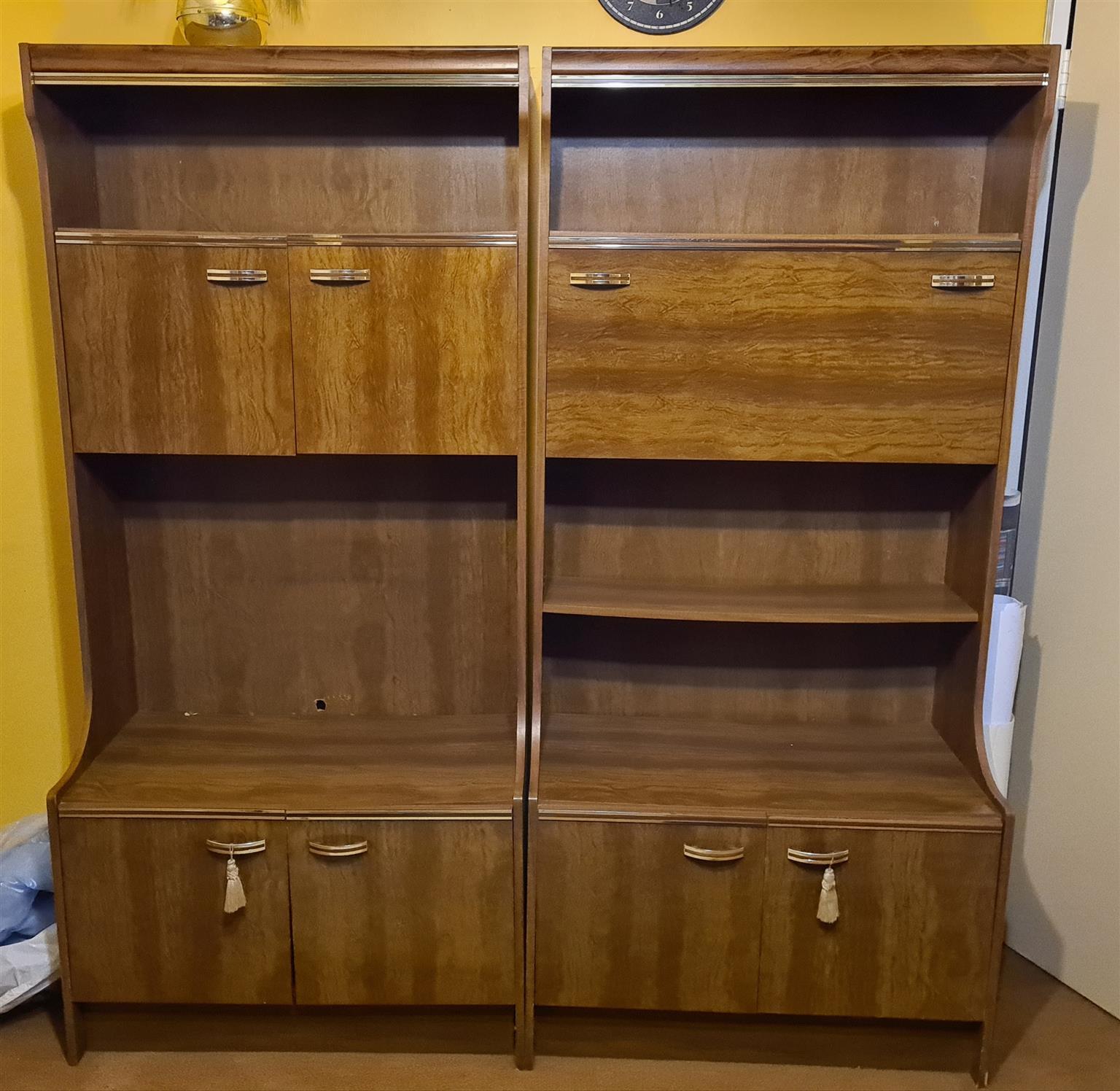 Wood finish, Room divider / TV Cabinet