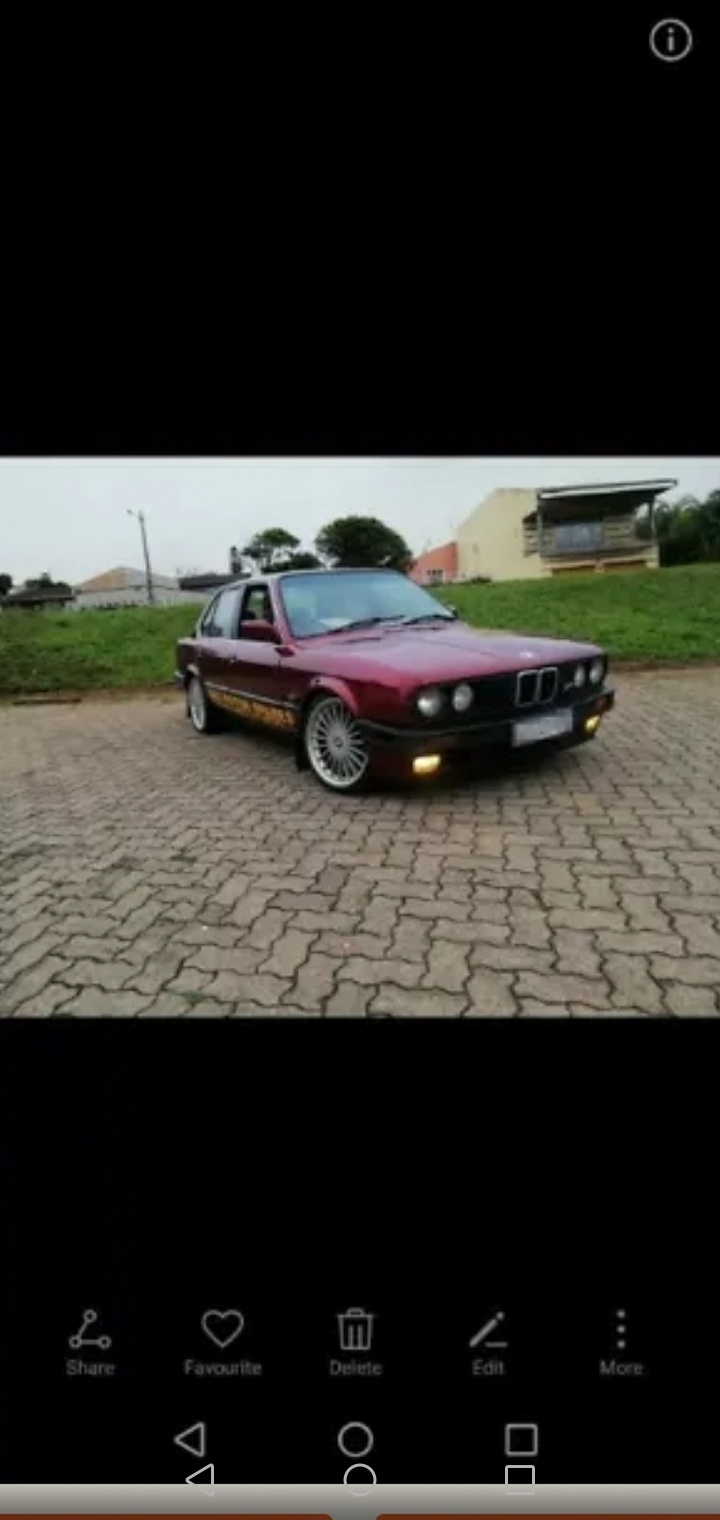 1989 BMW 3 Series 318i auto
