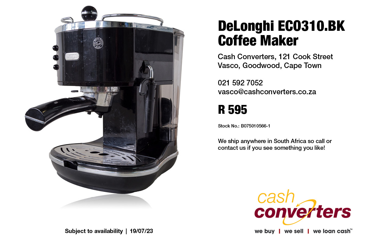 DeLonghi ECO310.BK Coffee Maker