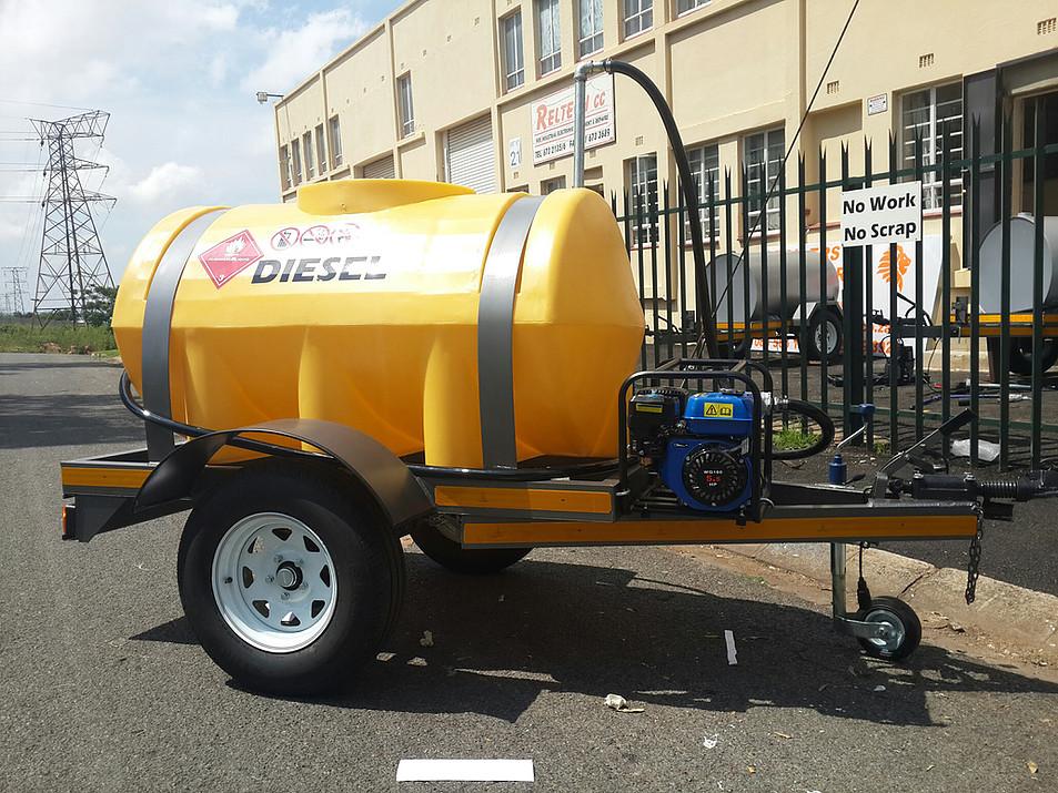 100 liters Tanker  Plastic