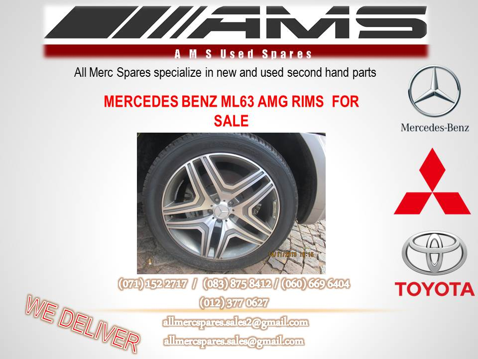 MERCEDES BENZ ML 63 AMG RIMS FOR SALE