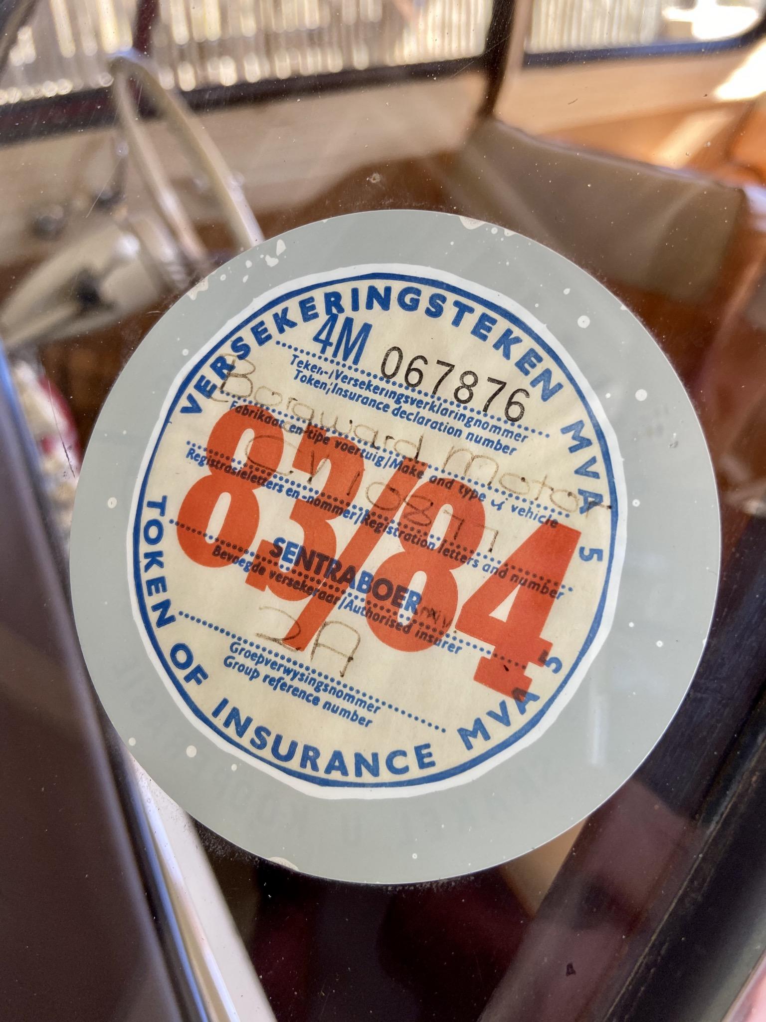 1959 Borgward Issabella