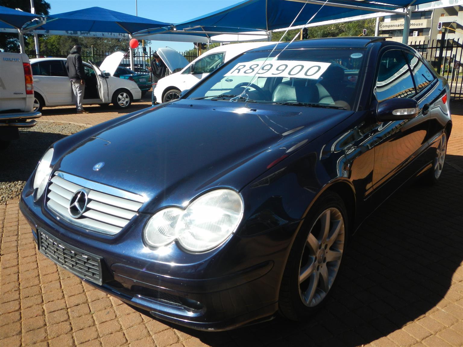 2002 Mercedes Benz C Class C230 Kompressor Sports Coupé Evolution