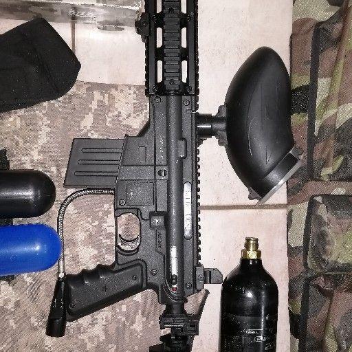 Tippmann Sierra One paintball marker gun kit