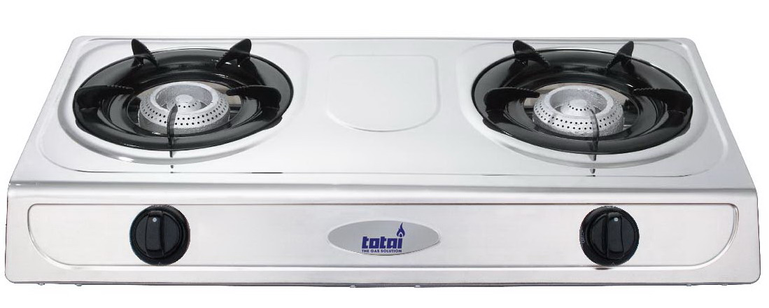 GAS 2 PLATE STOVE