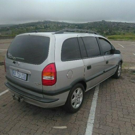 2002 Opel Zafira 1.8 Elegance