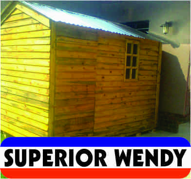 Doll houses, Wendy houses, guard houses and log homes