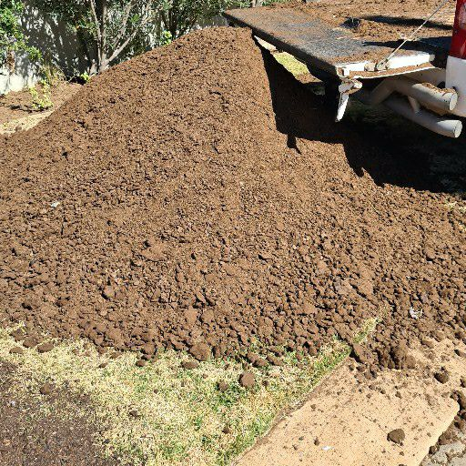 lawn and compost