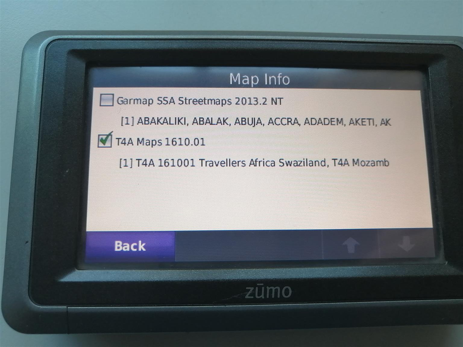 Garmin Zumo Waterproof GPS + Touratech GPS secure lock handel bar mount holder