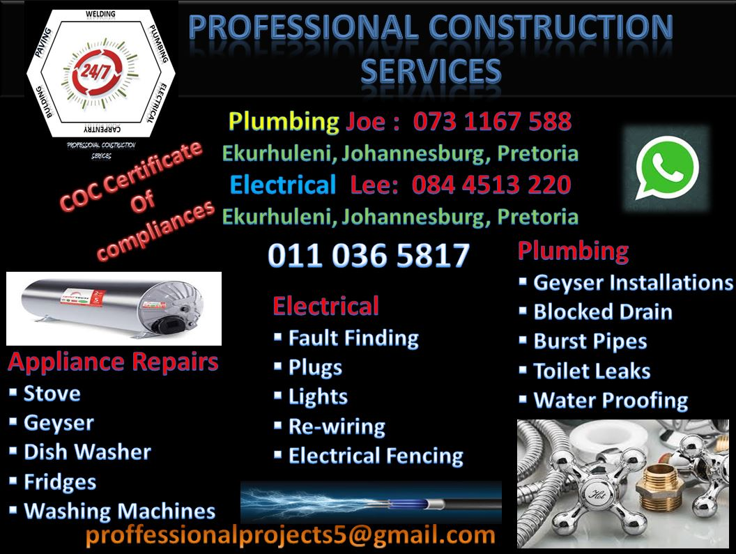 Professional Construction And Services Junk Mail Stove Plug Wiring South Africa