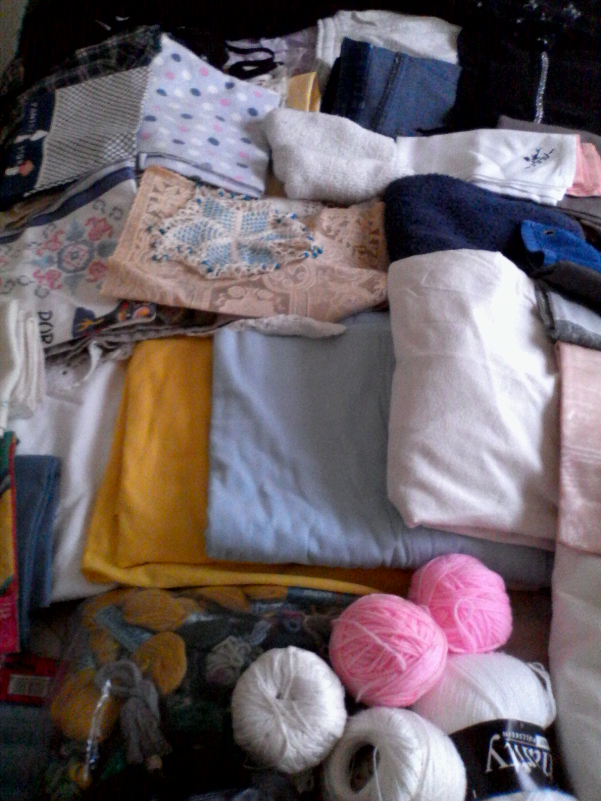 All different types of clothing etc