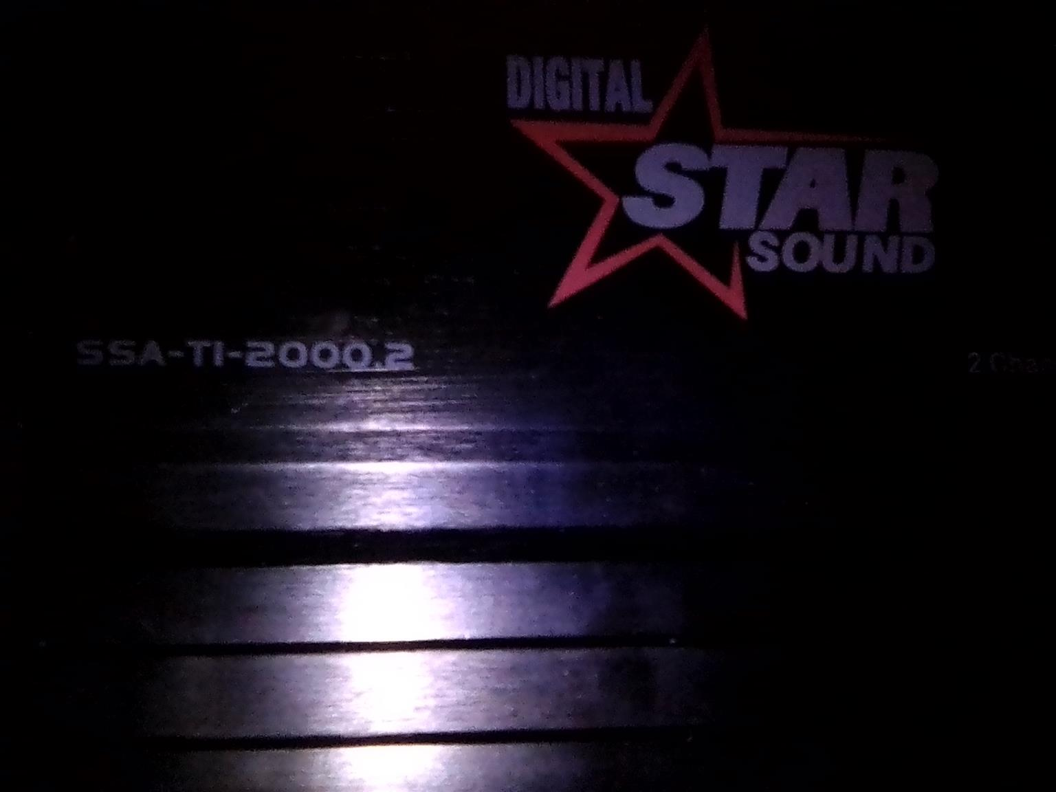 Used Digital Star Sound Amplifier for sale