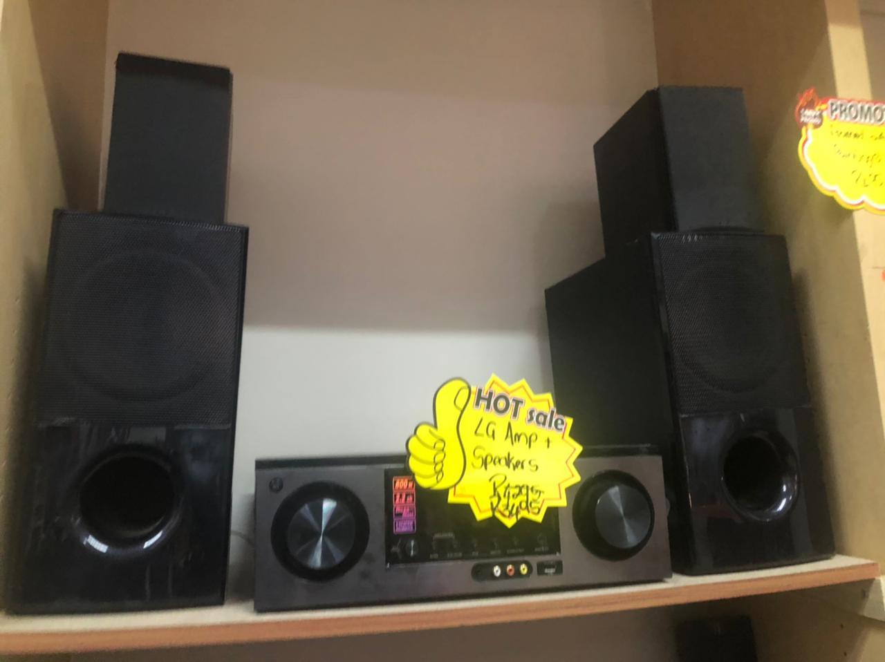 LG Amp & Speakers