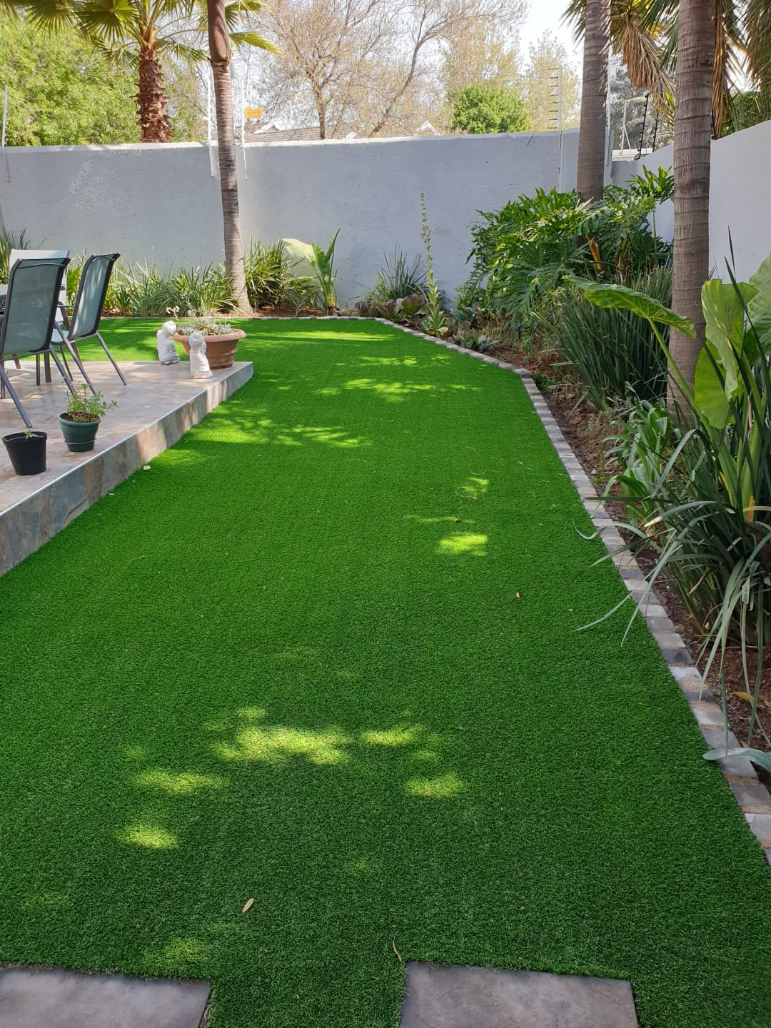 Artificial grass:Suppliers and installers.