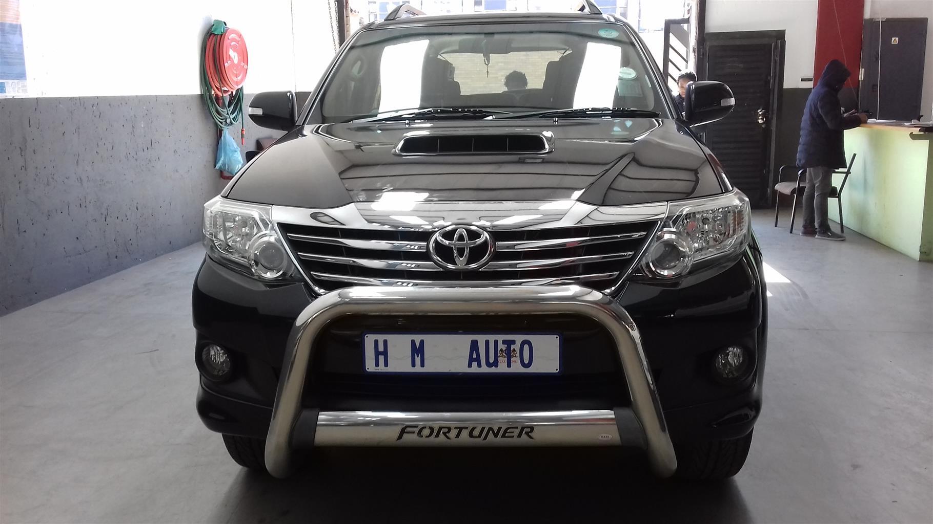 2013 Toyota Fortuner 3.0D 4D auto