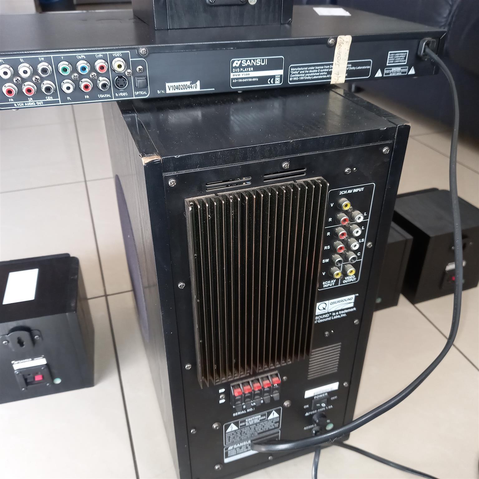 Sansui surround sound system