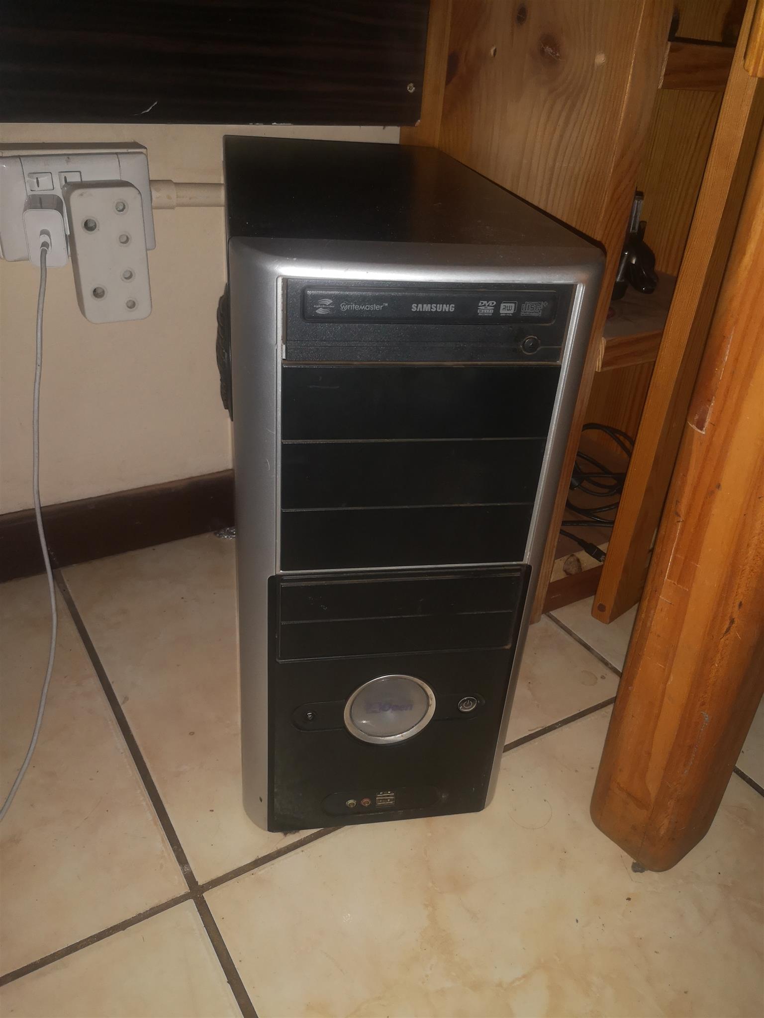 Complete computer box