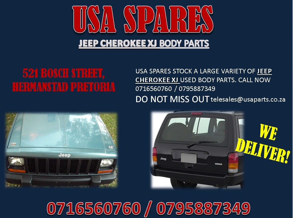 Jeep Cherokee Xj Body Parts For Sale Usa Spares Junk Mail